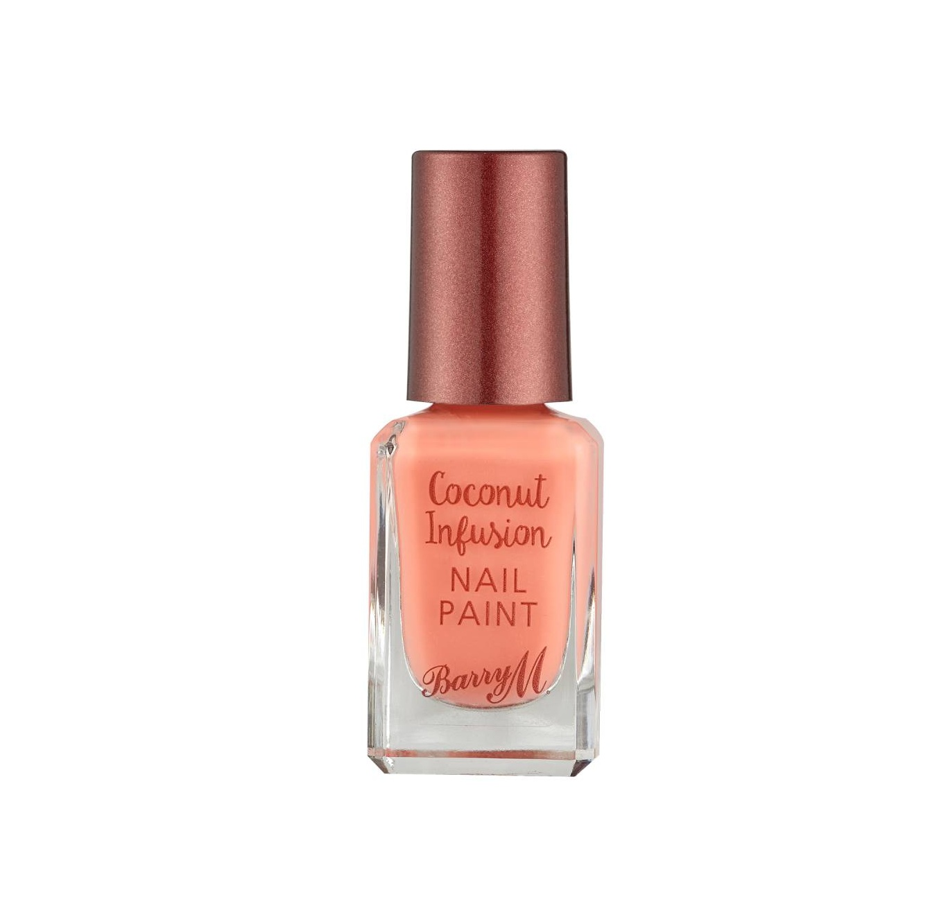 Barry M Coconut Infusion Flamingo £4.99 - Packed with coconut oil and water to nourish and hydrate the nails, Barry M Coconut Infusion comes in lots of pretty shades such as this lovely Flamingo, has a glossy finish and lasts for ages.