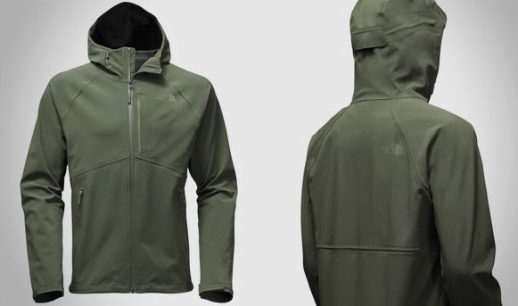The weatherproof Northface Apex Flex GTX jacket in Thyme color.