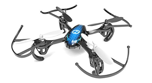 The Holystone Predator is a perfect beginner quadcopter with a lot of features. It's really quick, responsive, and you can change the batteries so you can fly longer.