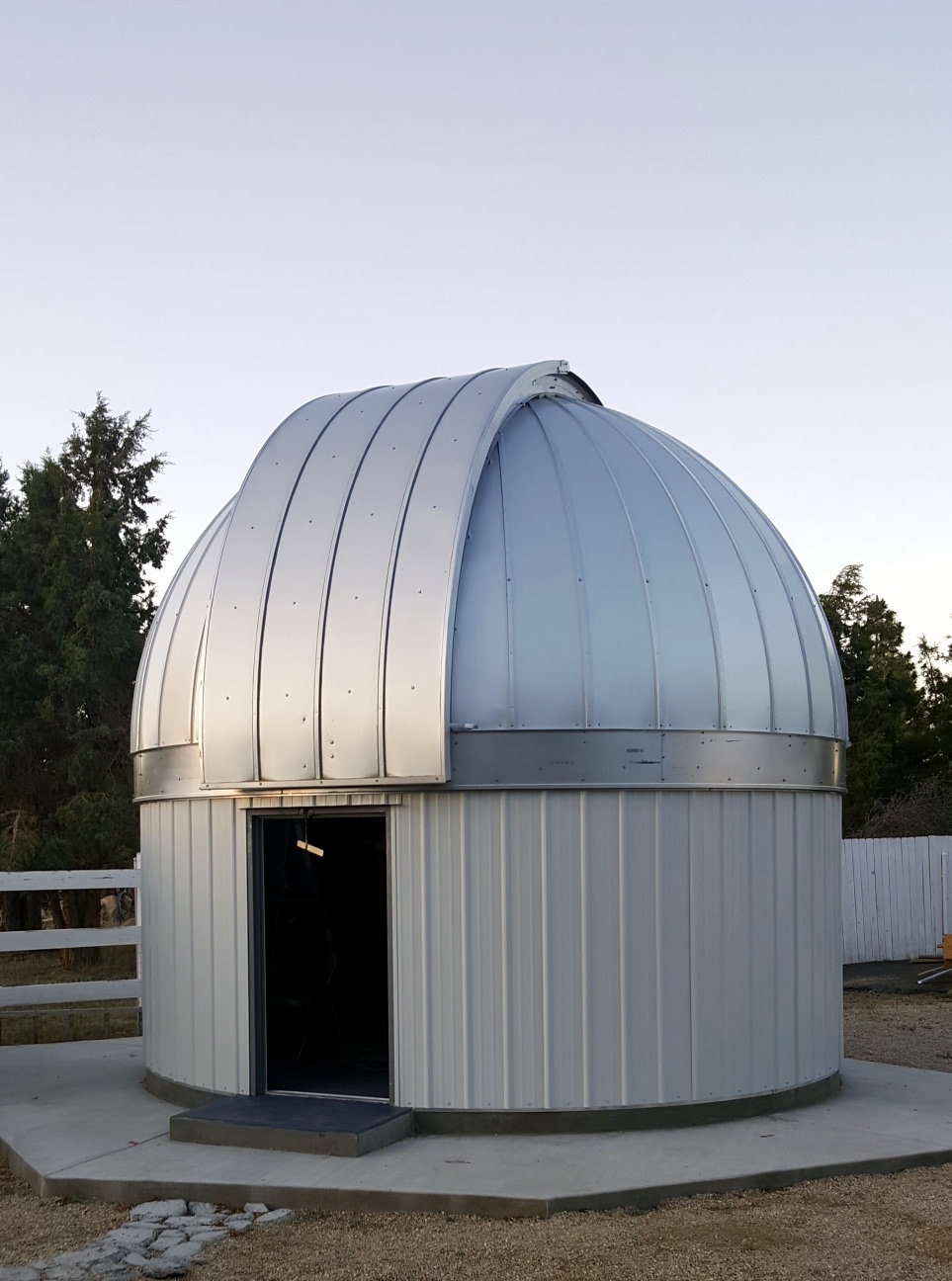 My friend's observatory high in the mountains.