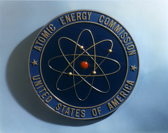 For decades, the AEC used the wrong model of the atom for their logo! Doh!!