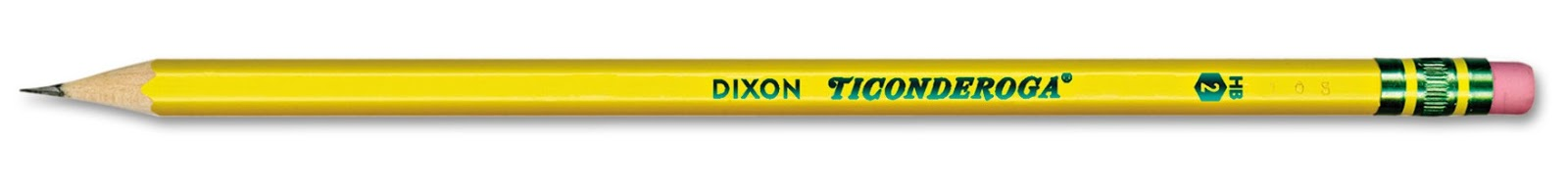 I introduce to you the quantum Dixon Ticonderoga #2 pencil!