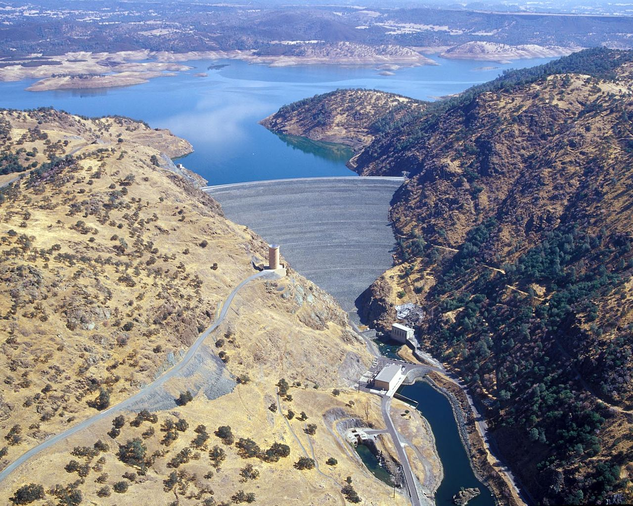 The new Melones dam is perhaps the most controversial in the state.