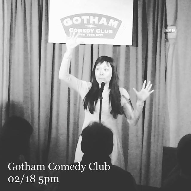 Gotham Comedy Club 02/18 5pm