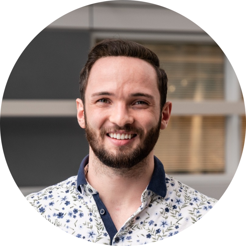 Will Wilson, co-Lead  Internal Communications
