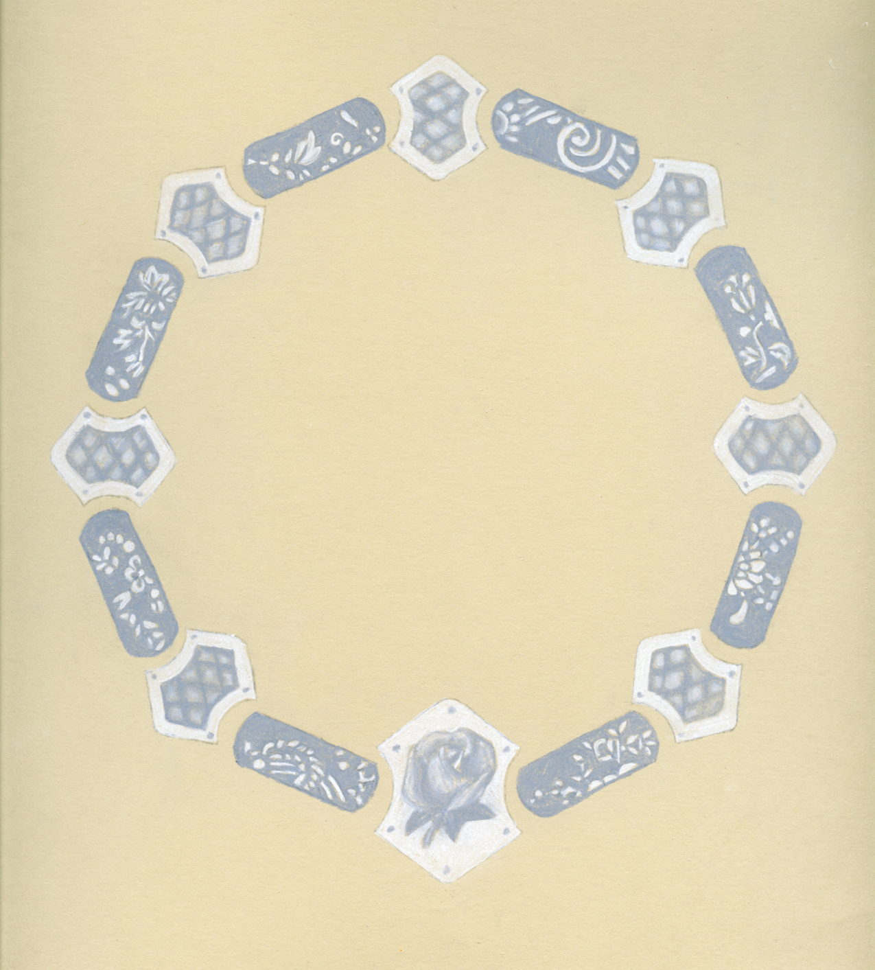 Handkerchief Necklace Proposal Rendering
