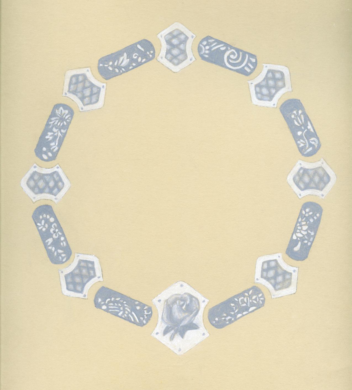 Handkerchief Necklace Proposal Rendering