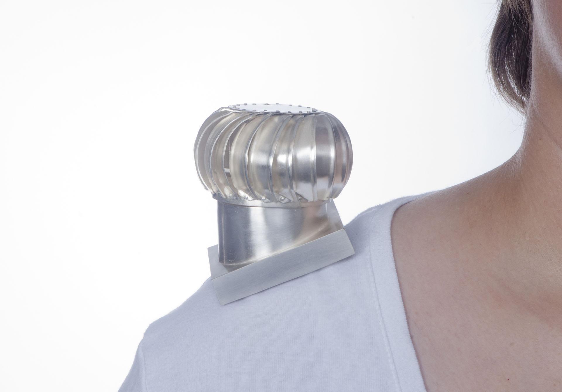 Attic Turbine Vent (shoulder broach)