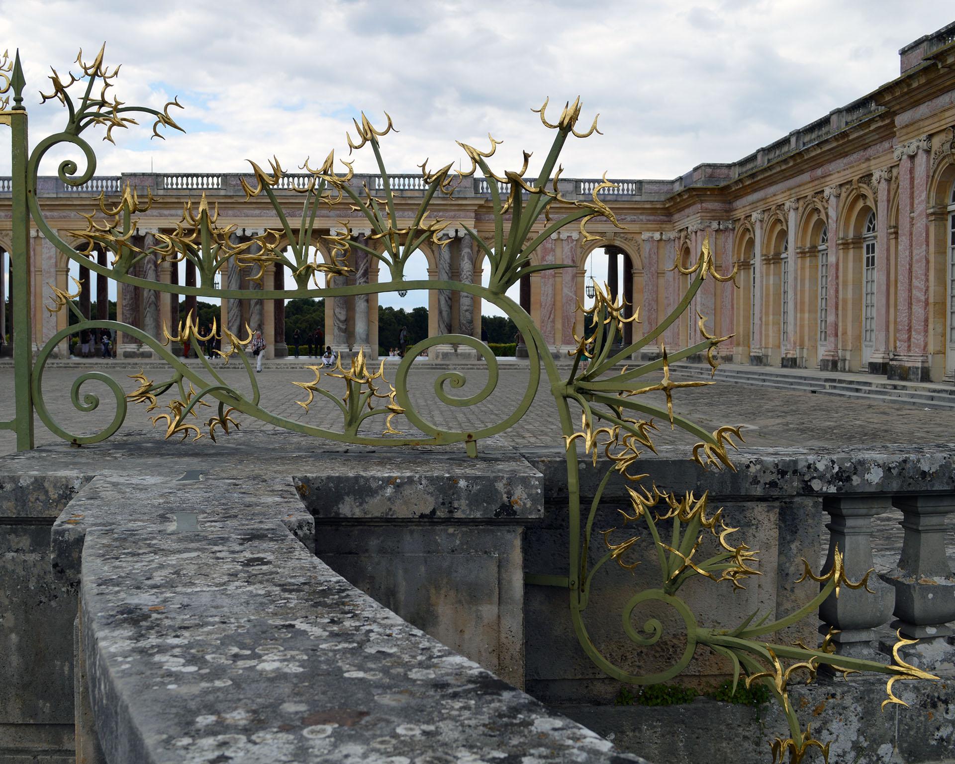 Grand Trianon Gate, Versailles, France