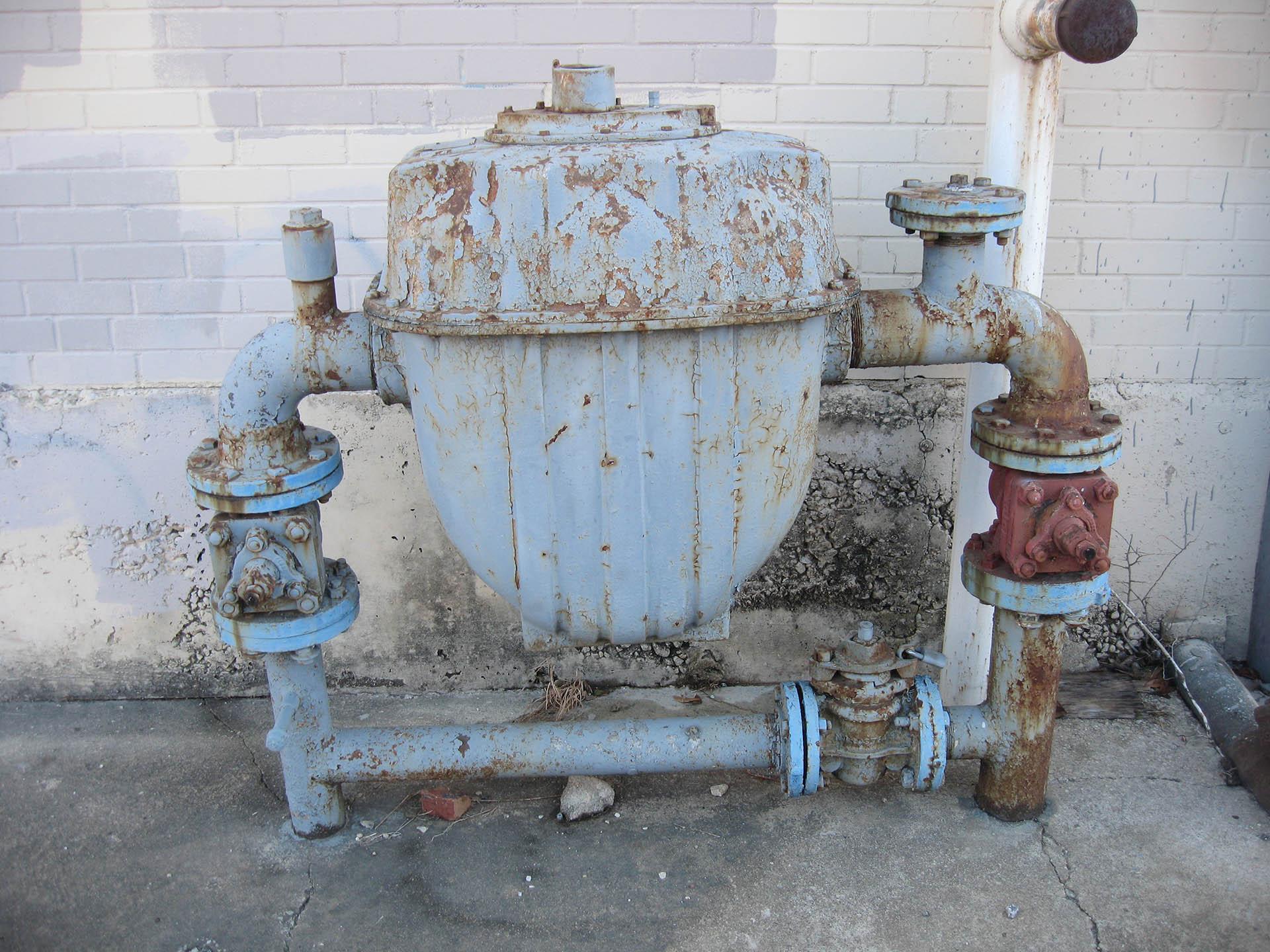 Industrial Gas Meter, Fort Worth, Texas