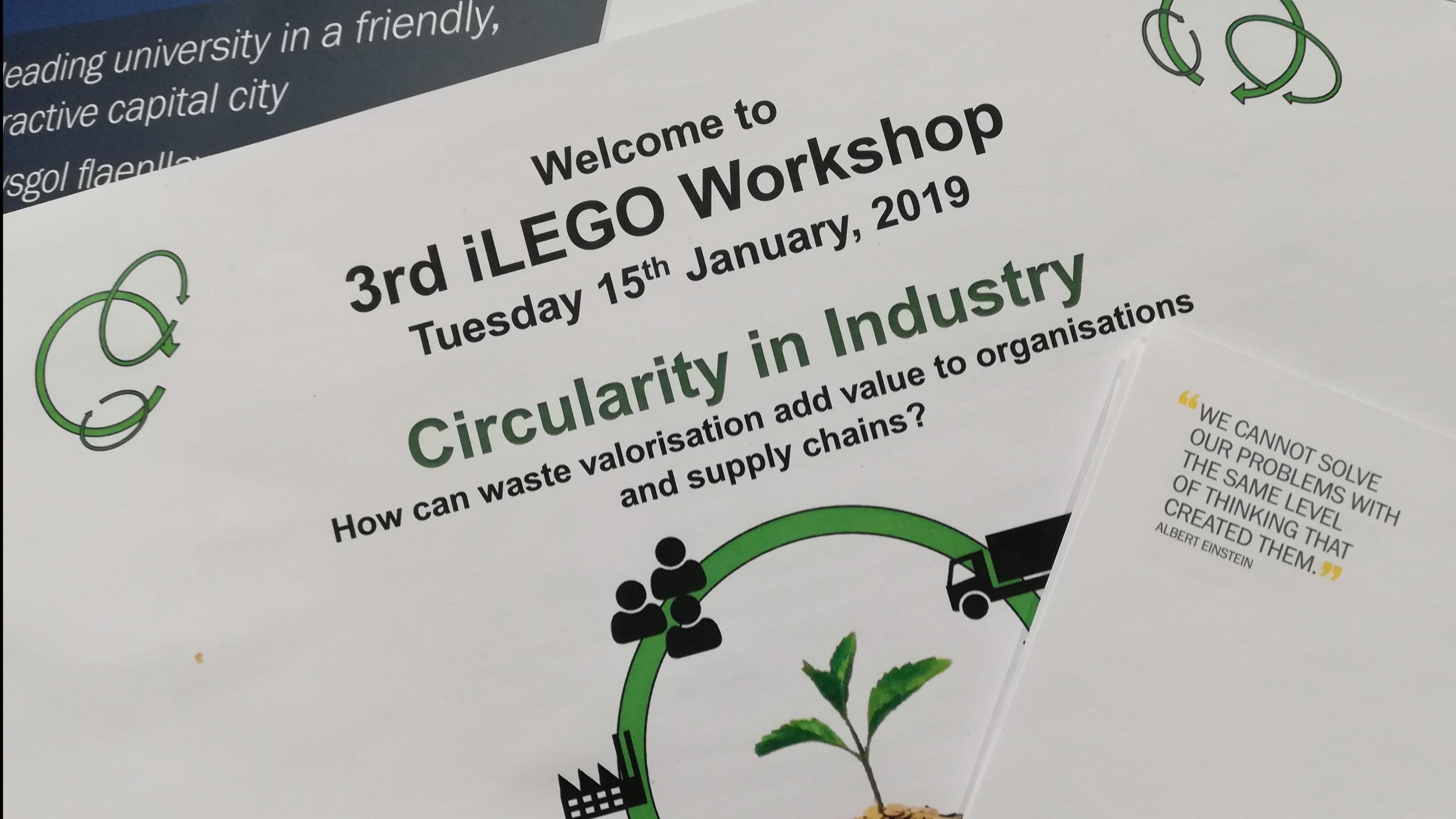 3rd iLego Workshop hosted by Cardiff Business School