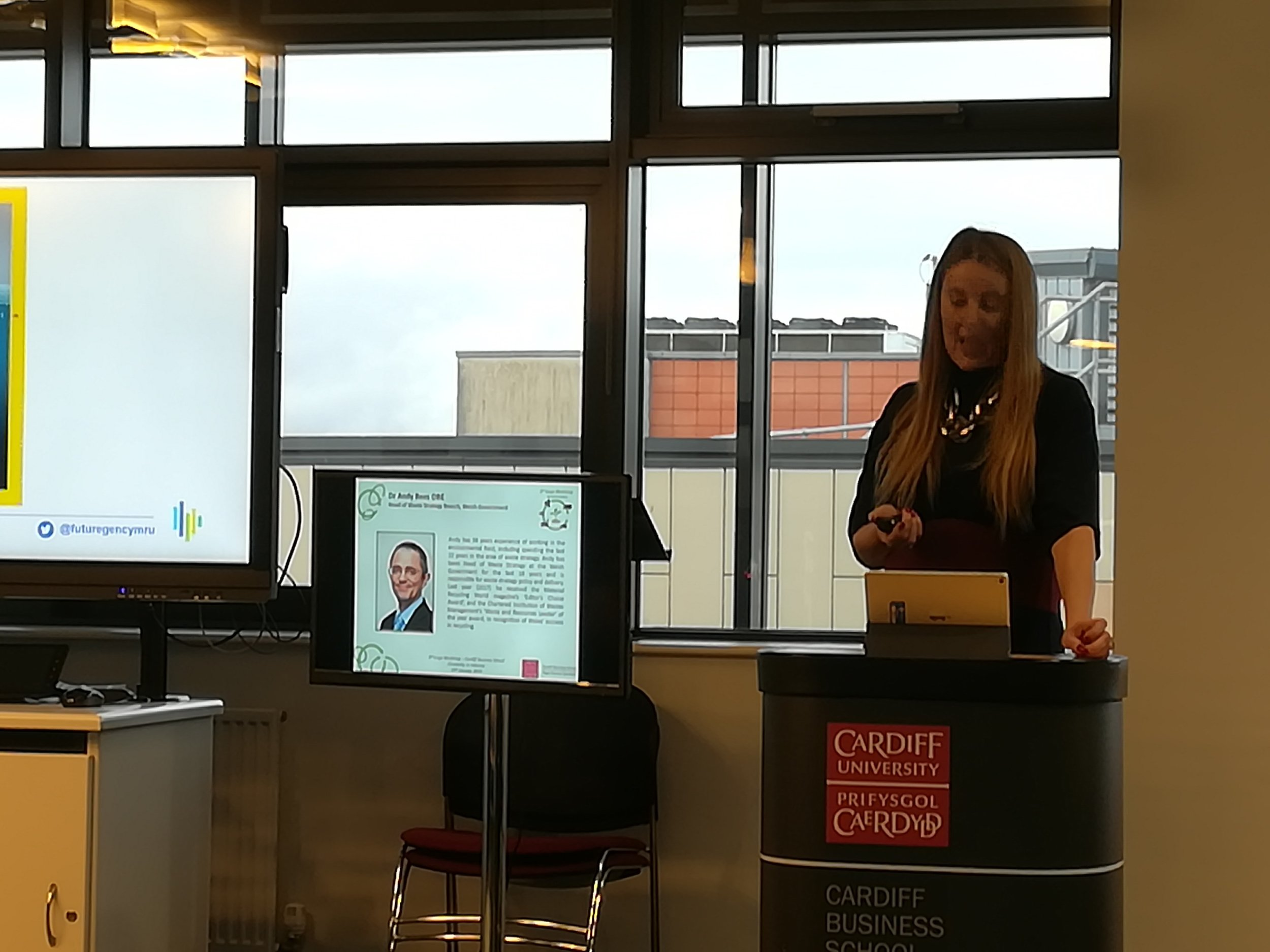 Key note speaker by Sophie Howe, the Future Generations Commissioner for Wales