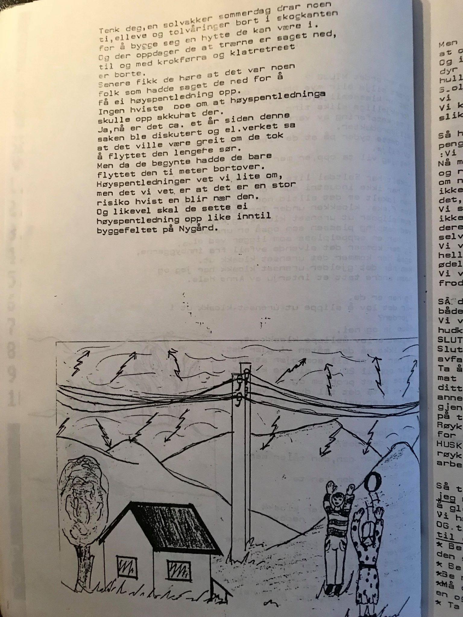 High voltage power masts: Text/Illustration, Tyra 1992