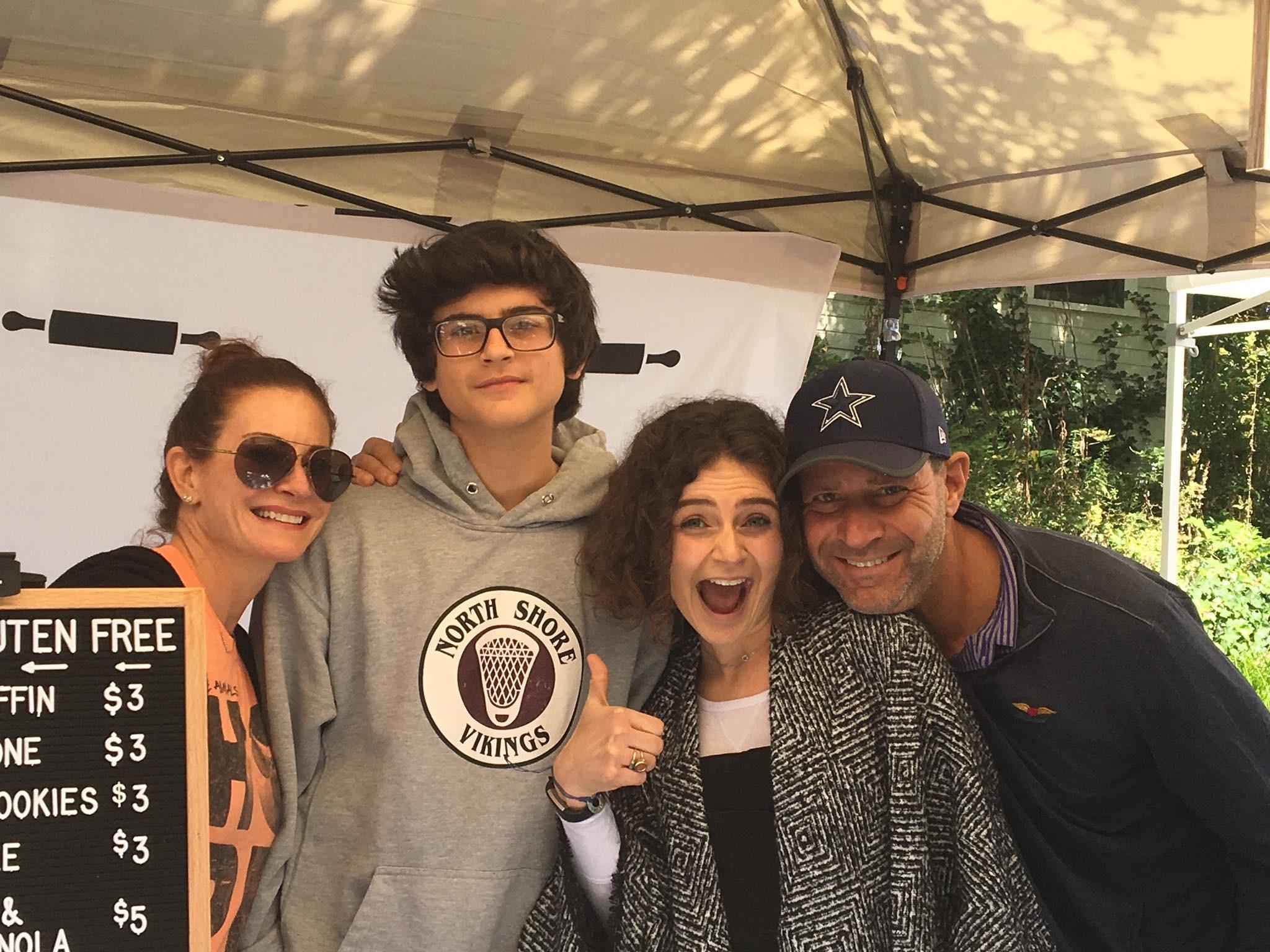 The Malin Family at Mini Mart 2017.