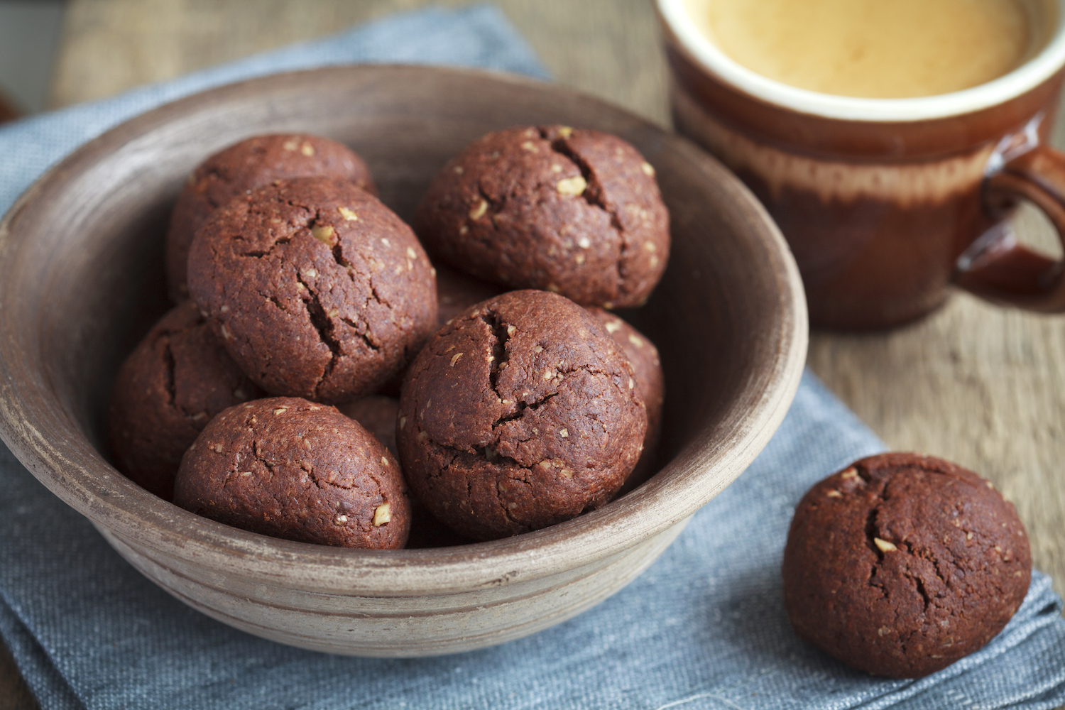 The Tish Kitchen   Good for You - Chocolate Cranberry Walnut Cookies   Food Blogger
