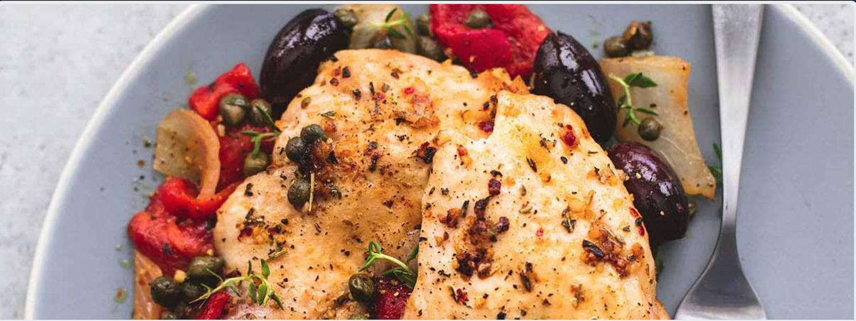 Mediterranean Chicken   The Tish Kitchen   Food Blogger