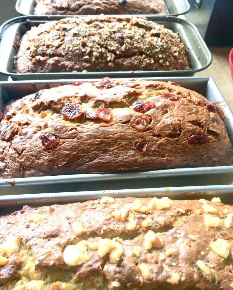 Banana Bread To Go | The Tish Kitchen | Food & Lifestyle Blogger