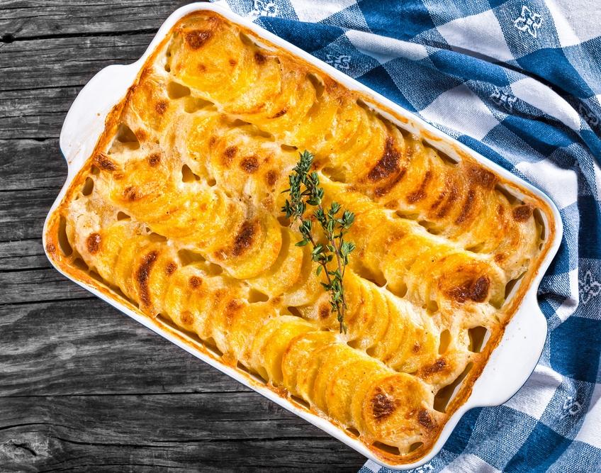 Sweet & Gold Potato Gratin   The Tish Kitchen   Food & Lifestyle Blogger