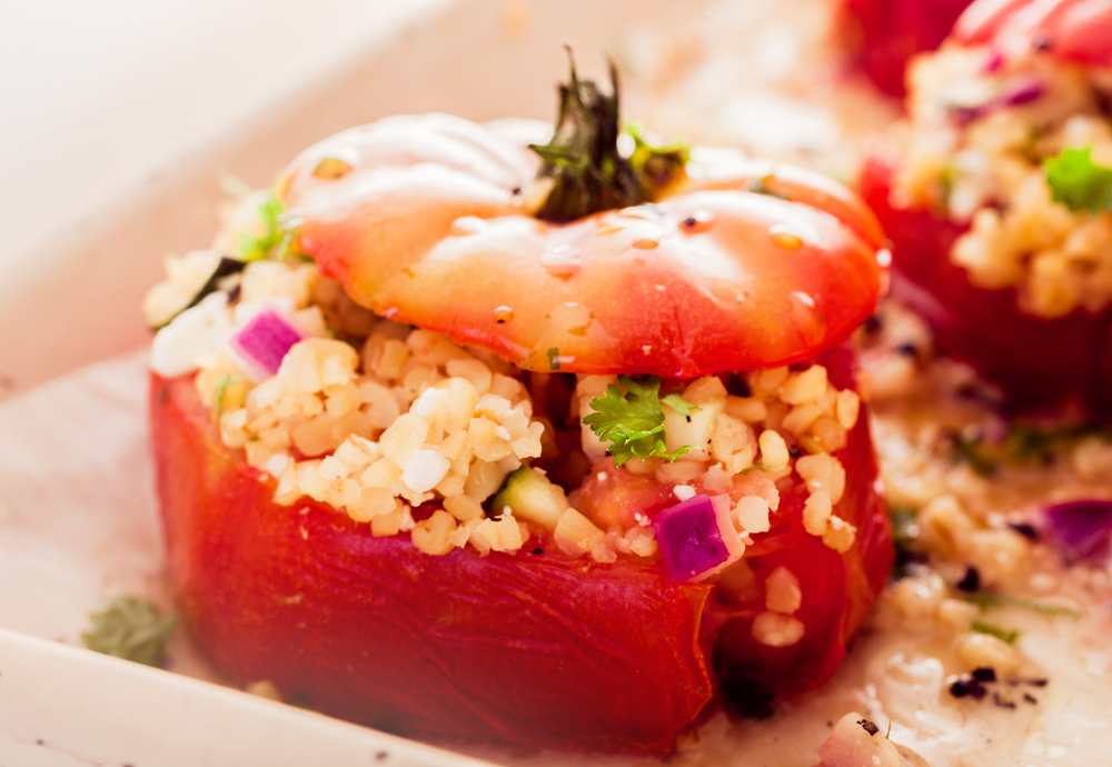 Couscous Stuffed Tomatoes | The Tish Kitchen | Food & Lifestyle Blogger