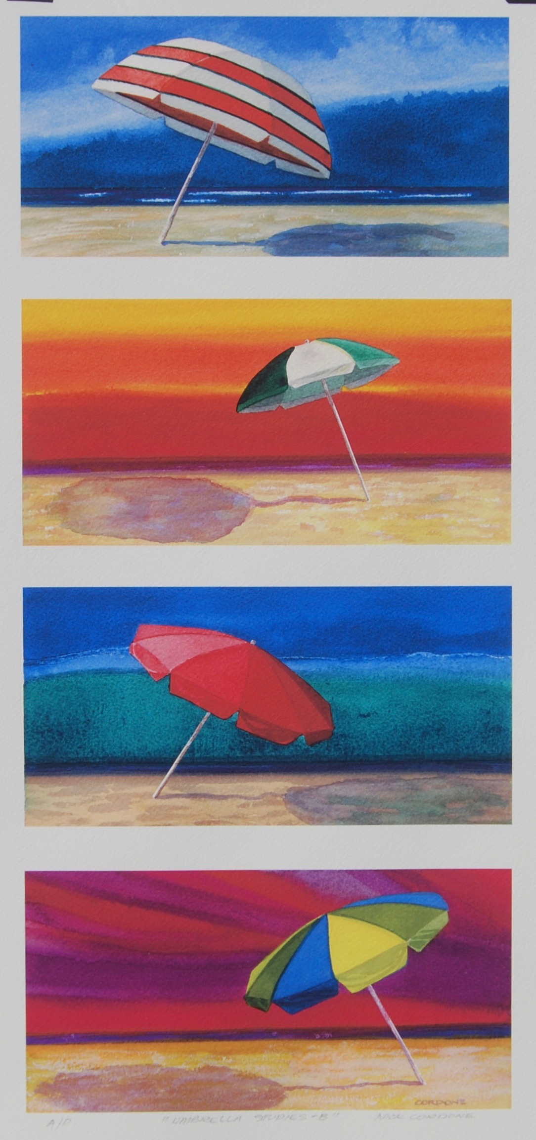 Umbrella Studies #1 - 12