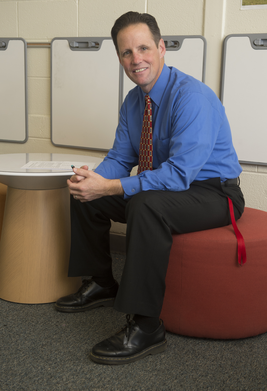 Clintondale Teacher Mike Ward
