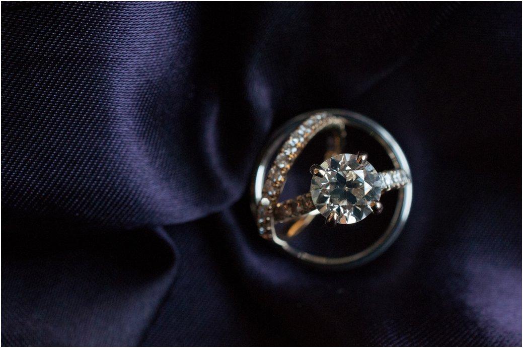 2 carat radiant cut diamond wedding ring set