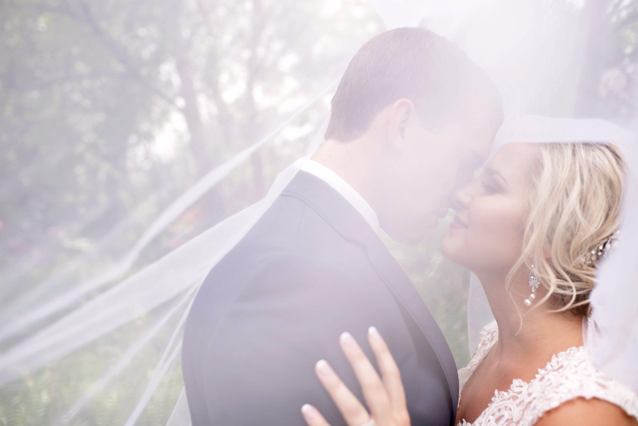 loose updo bridal hair