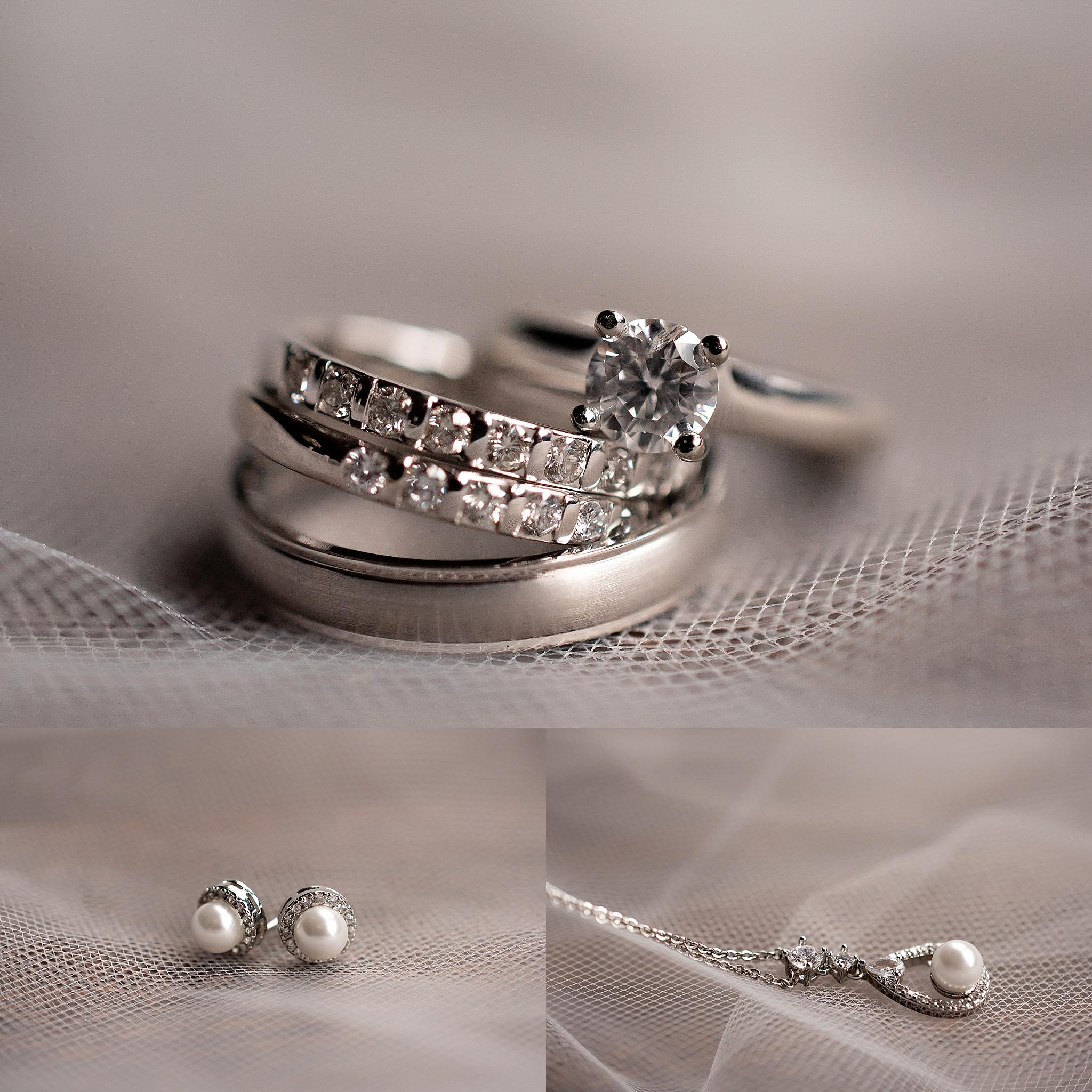 platinum wedding set princess cut engagement ring