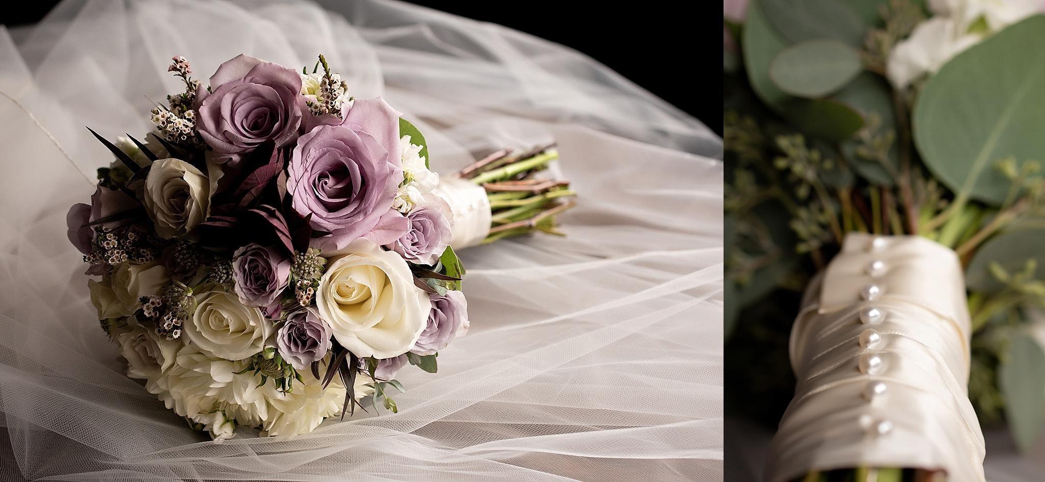 lavender rose bridal bouquet