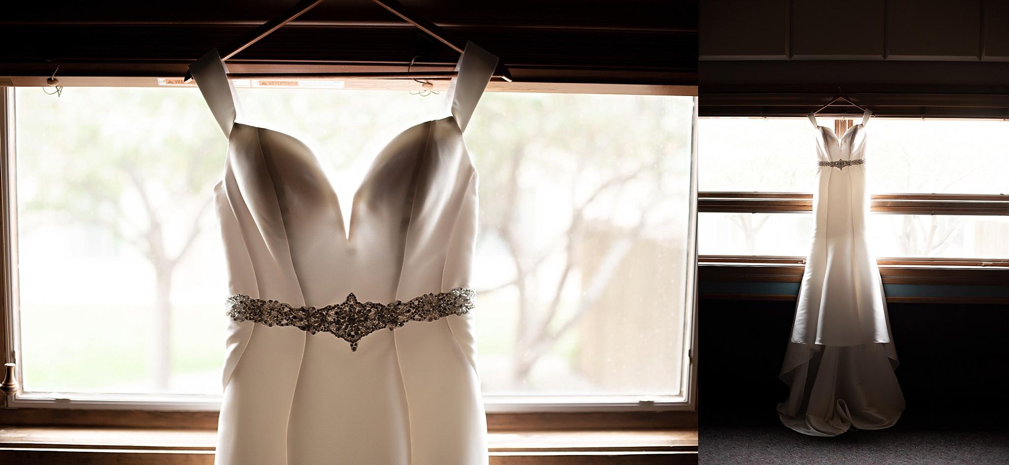 off the shoulder mermaid cut wedding dress