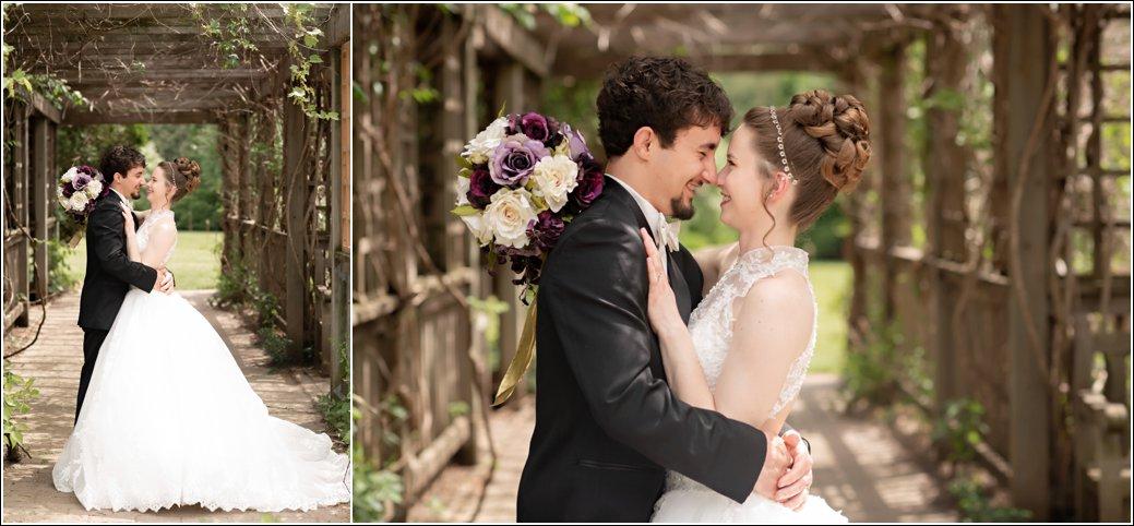 garden wedding pergola mccrory gardens