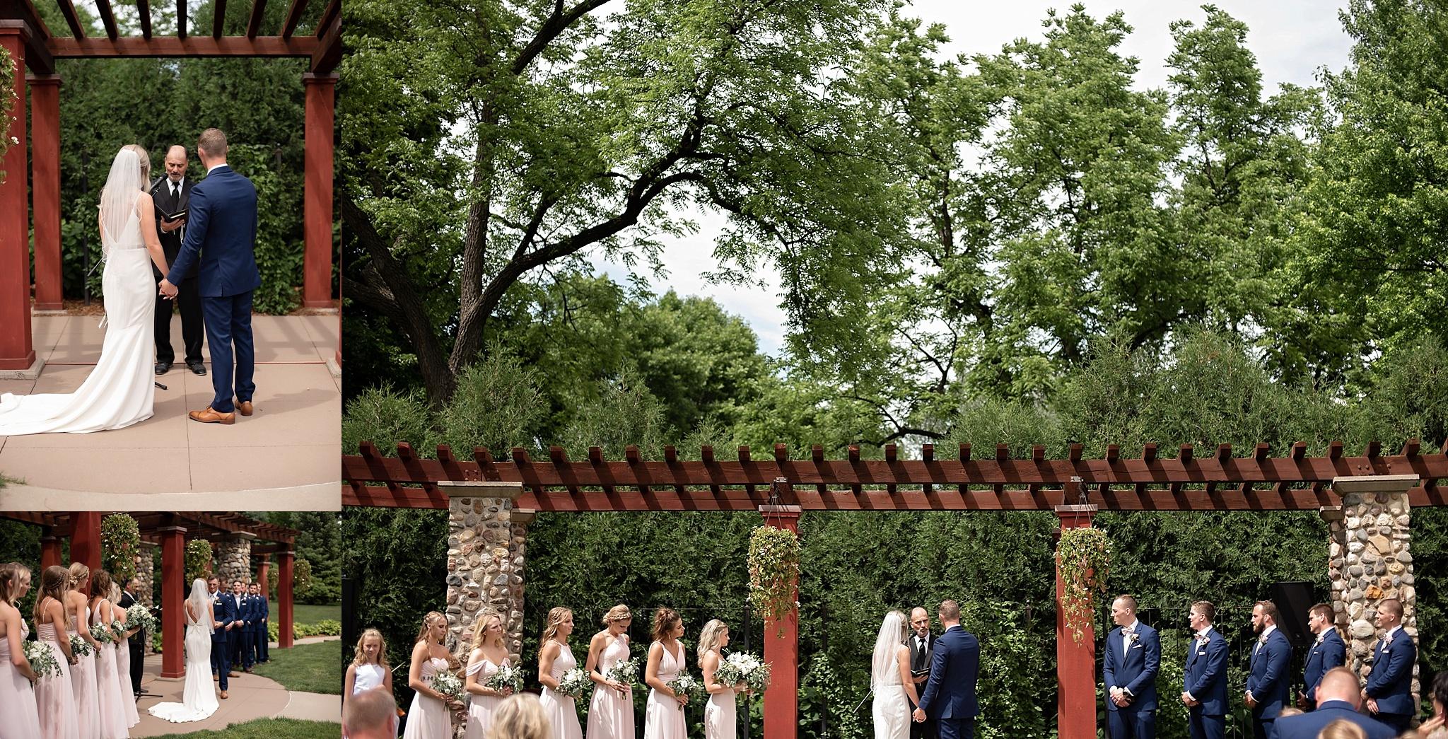 mckennan garden park wedding sioux falls sd