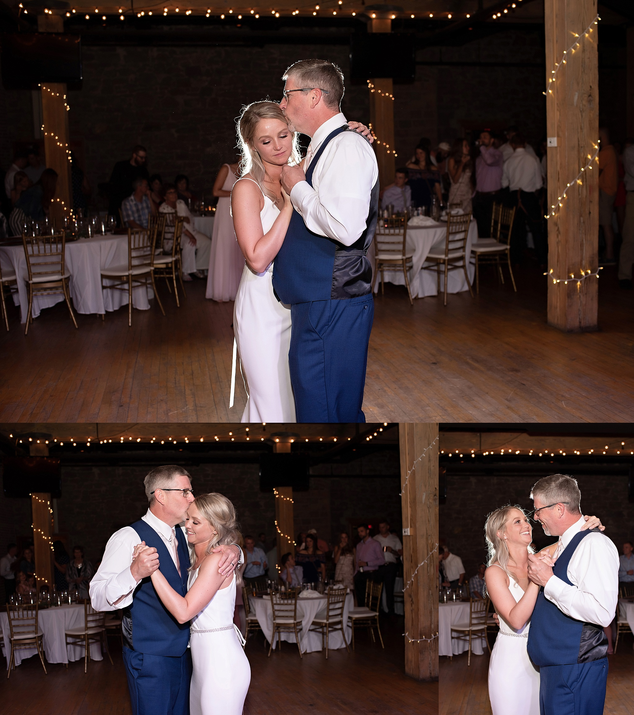 bride and groom first dance icon events center downtown sioux falls south dakota