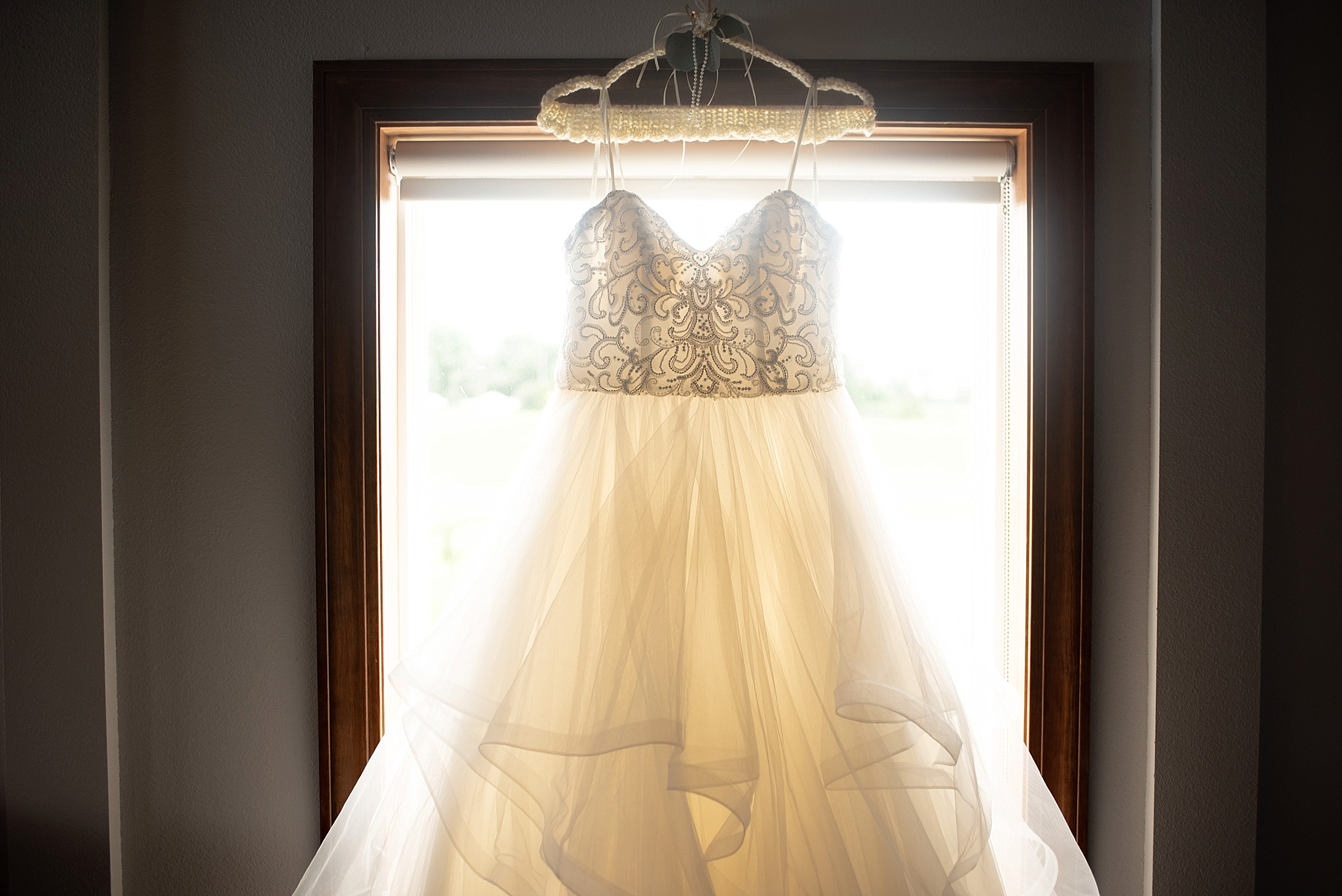 dreamy ball gown for bride multiple layers