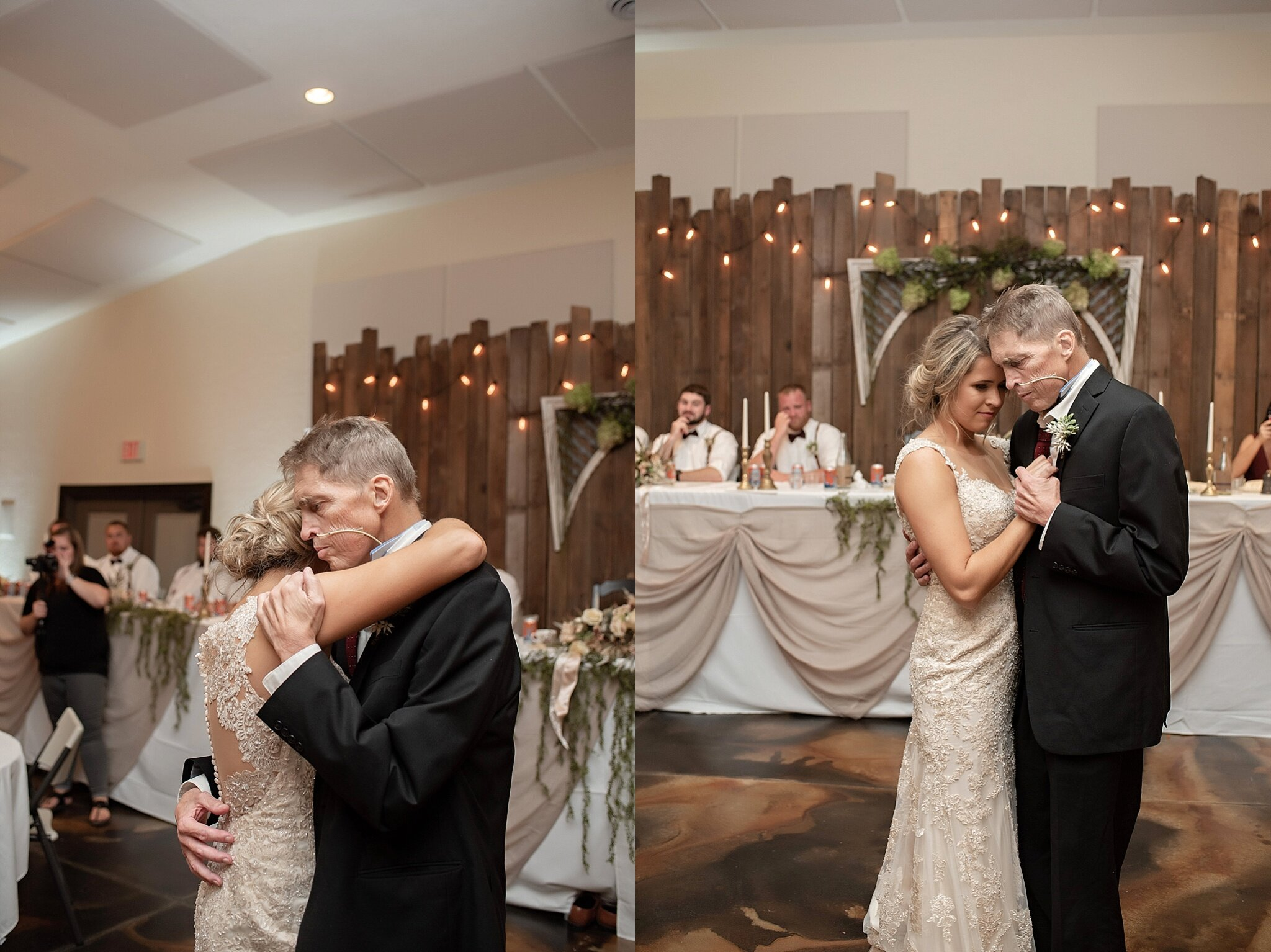bride first dance with terminally ill father