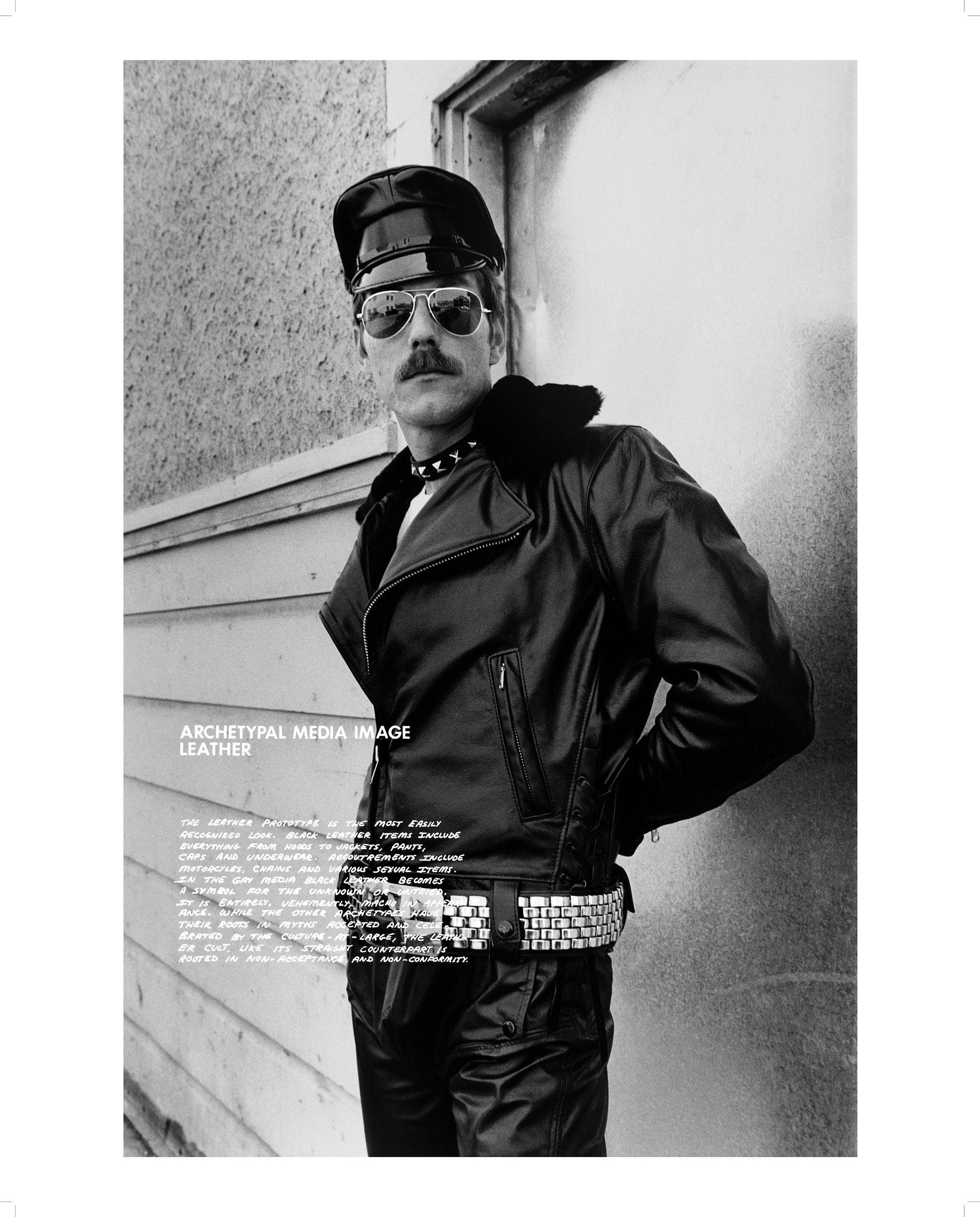 Archetypal Media Image: Leather