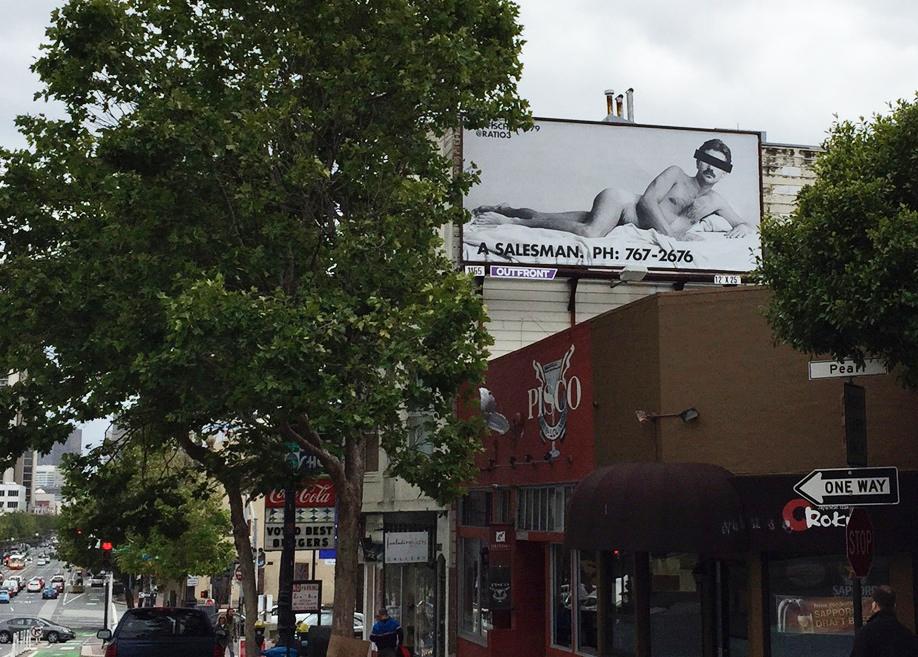 Billboard Installation, San Francisco, 2015