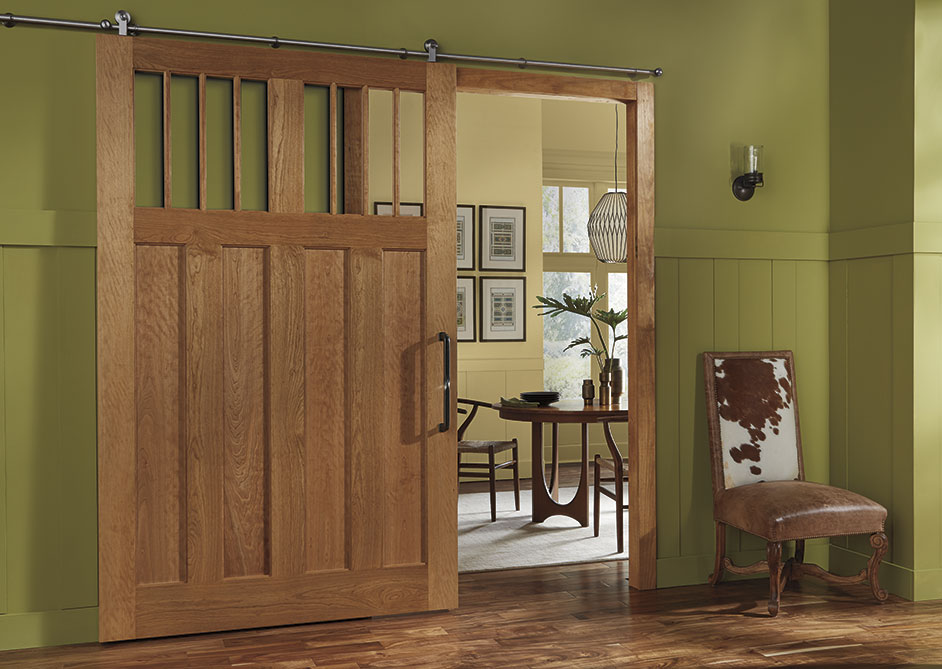 TRUSTILE Craftsman barn door