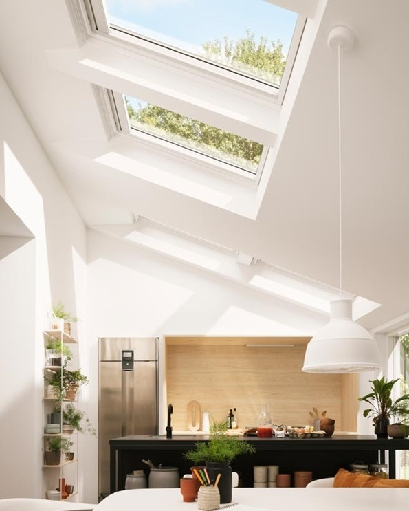 Velux - FOR MORE THAN 75 YEARS, VELUX HAS CREATED BETTER LIVING ENVIRONMENTS BY BRINGING DAYLIGHT AND FRESH AIR INTO HOMES ALL OVER THE WORLD.