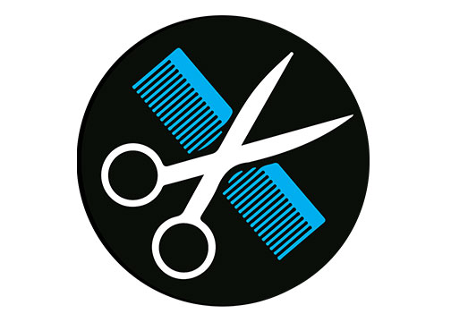 Grooming - Our full line of grooming services will make your pet look great.