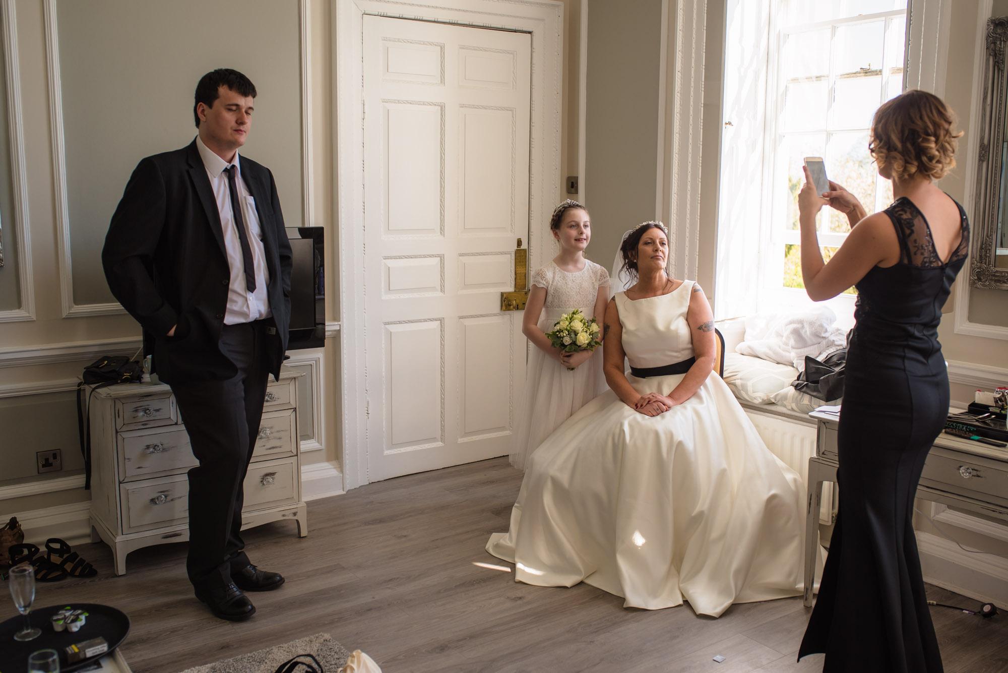 Bridal Prep phone pic