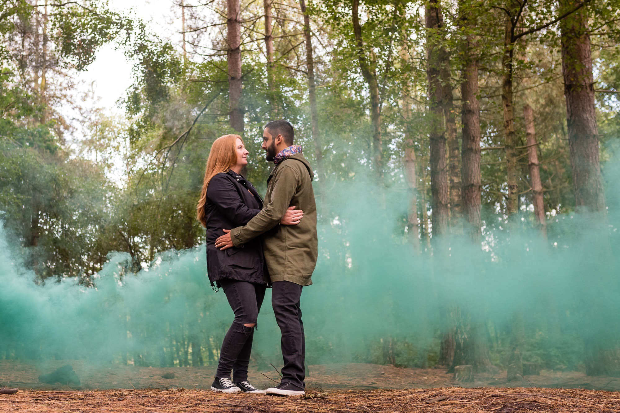 Smoke in Delamere Forest