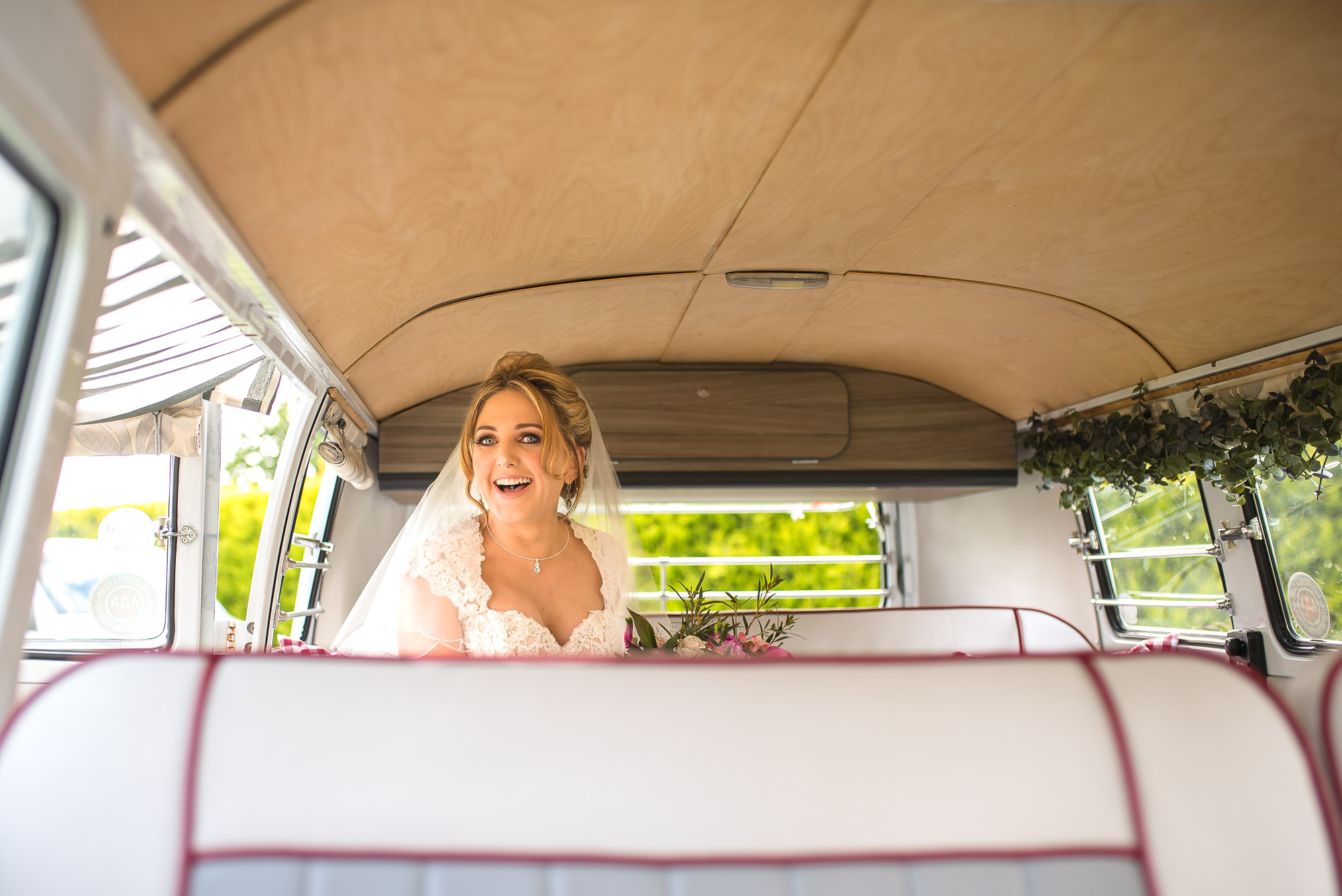 Katey in the Camper Van