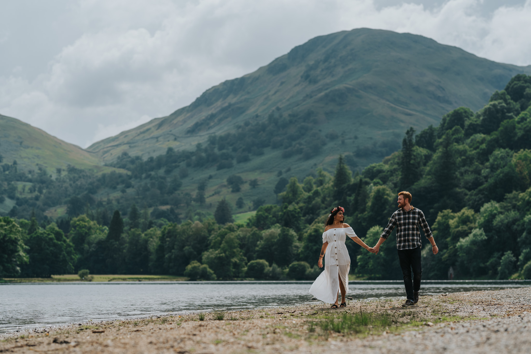 Oliver and Ju by Ullswater