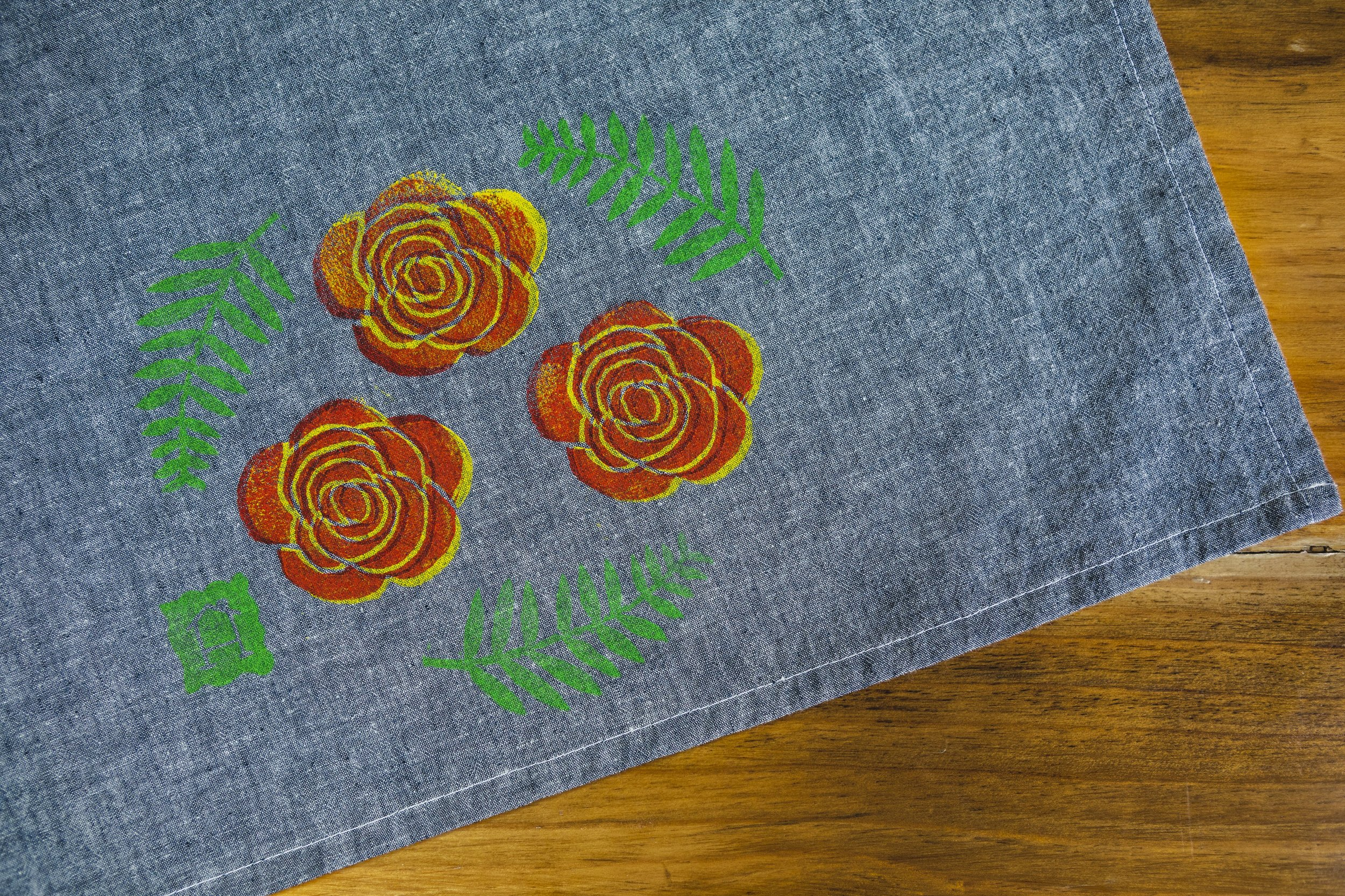 Tea Towel Flat FLOWERS.jpg