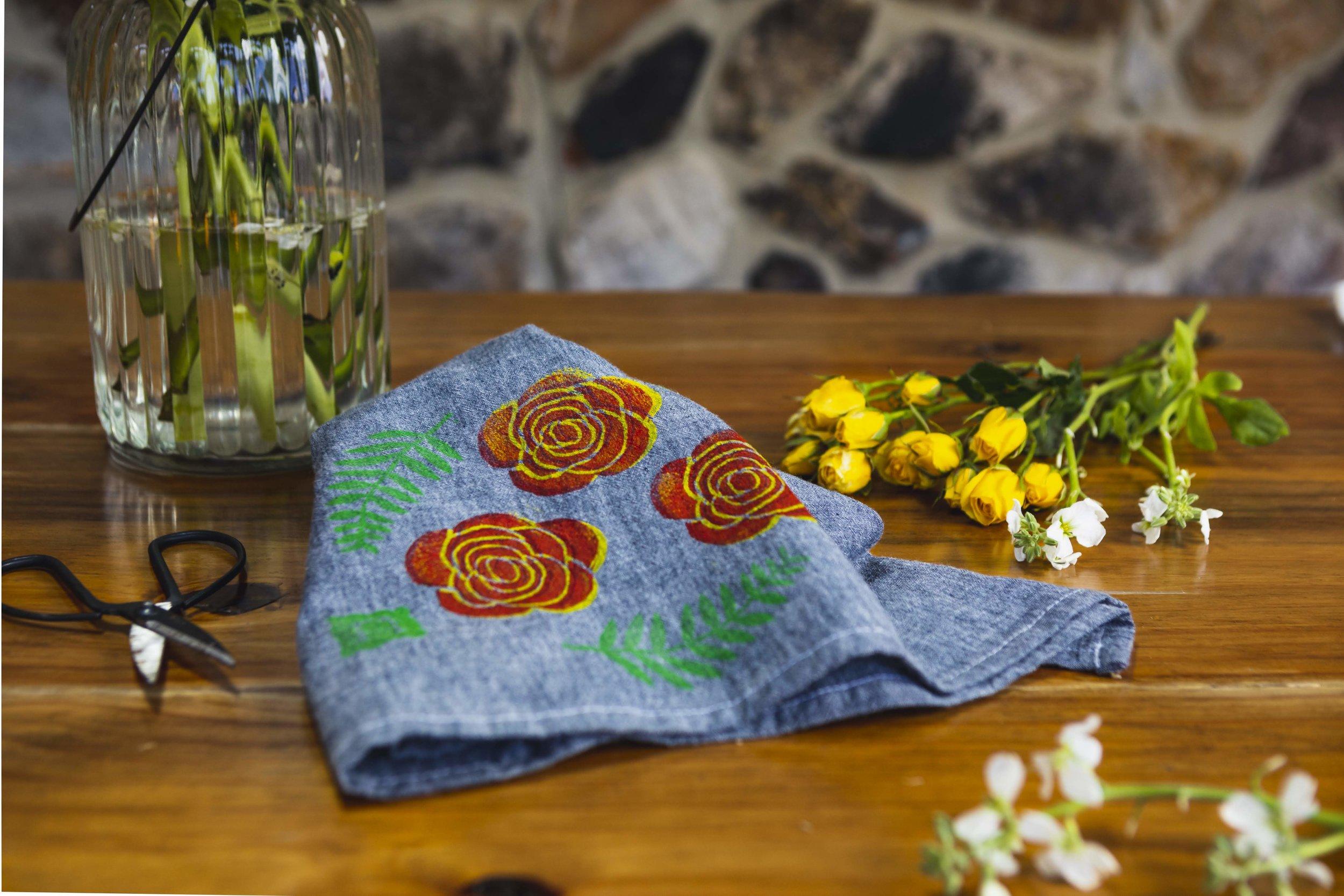 Tea Towel Styled FLOWERS.jpg