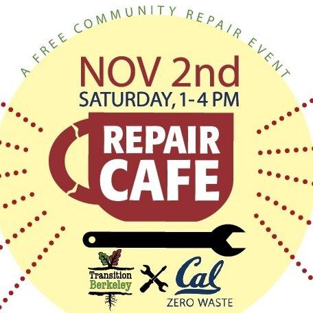 Transition Berkeley Cal Zero Waste Repair Cafe