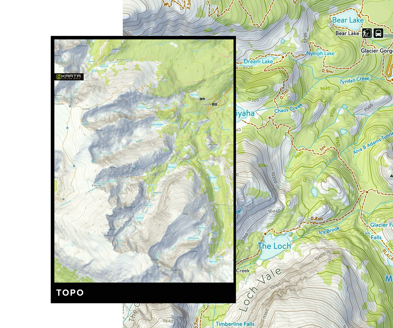 Map Styles Karta Diy Custom Outdoor Hunting Maps