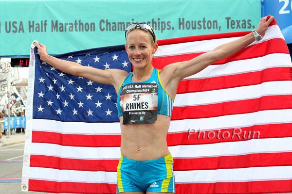 US Half Marathon Champion -
