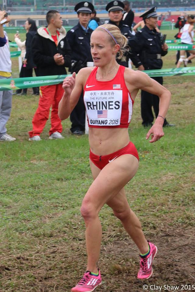 Representing the US at the World Cross Country Championships at age 40 -